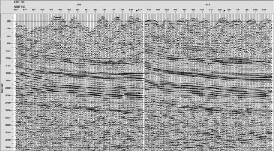 Output stack after x-spread noise